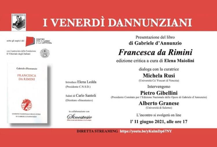 Invito Presentazione Francesca da Rimini