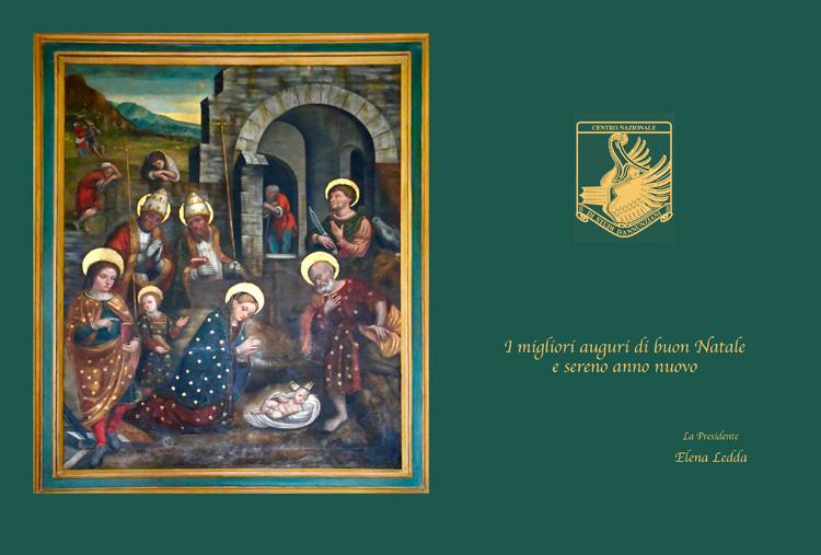 I migliori auguri di buon Natale e sereno anno nuovo