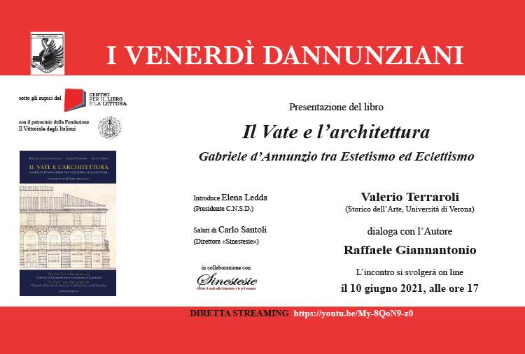 Invito Presentazione Raffaele Giannantonio